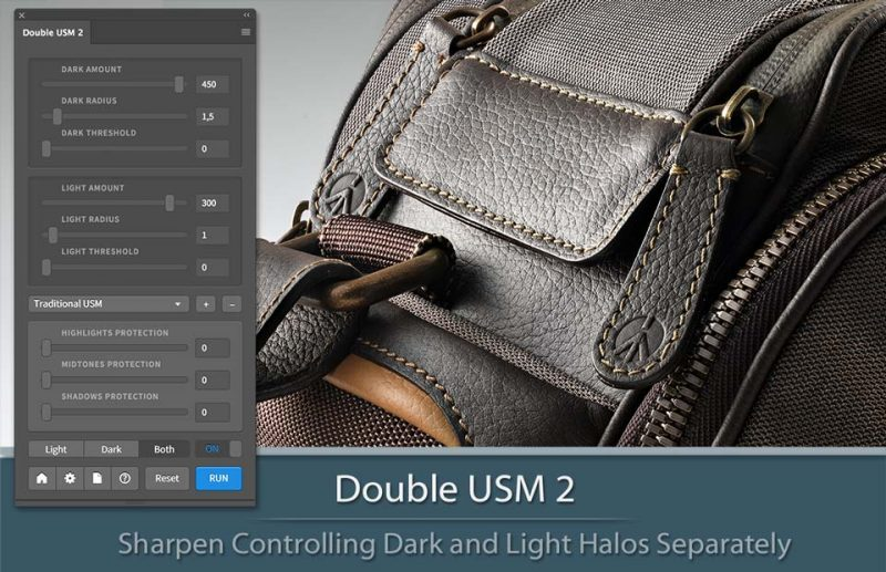 Double USM 2 Plugin per Photoshop