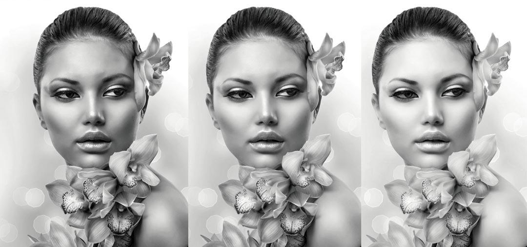 Black&White Conversion. Triple Tone Boosts Your Creativity